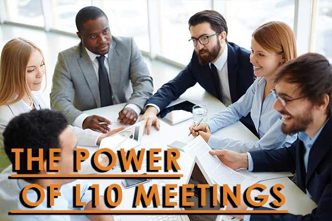 EOS and the power of L10 meetings