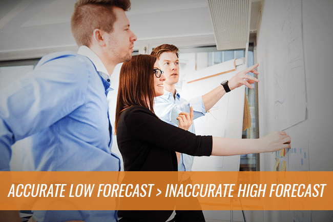 low accurate forecasts are better than high inaccurate forecasts